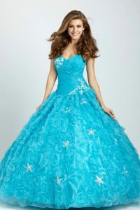 Turquoise Quinceanera Dress