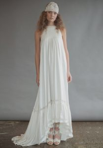 Vintage Bohemian Wedding Dress