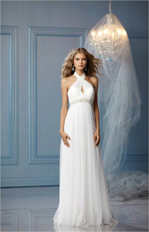 Casual wedding dresses dressed up girl for Wedding dresses casual beach