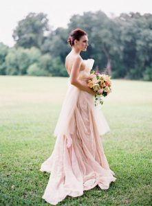 Wedding Dress Pink