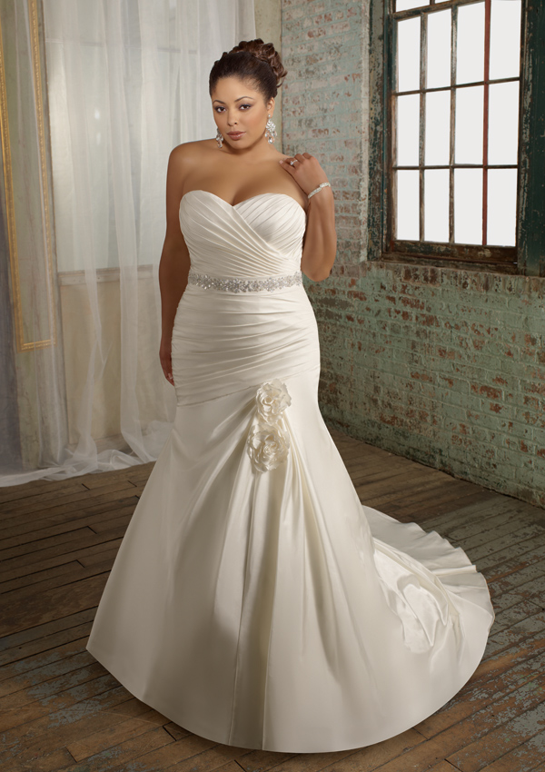 Plus size wedding dresses dressed up girl for Plus size wedding dresses online usa