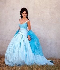 Wedding Dresses Blue