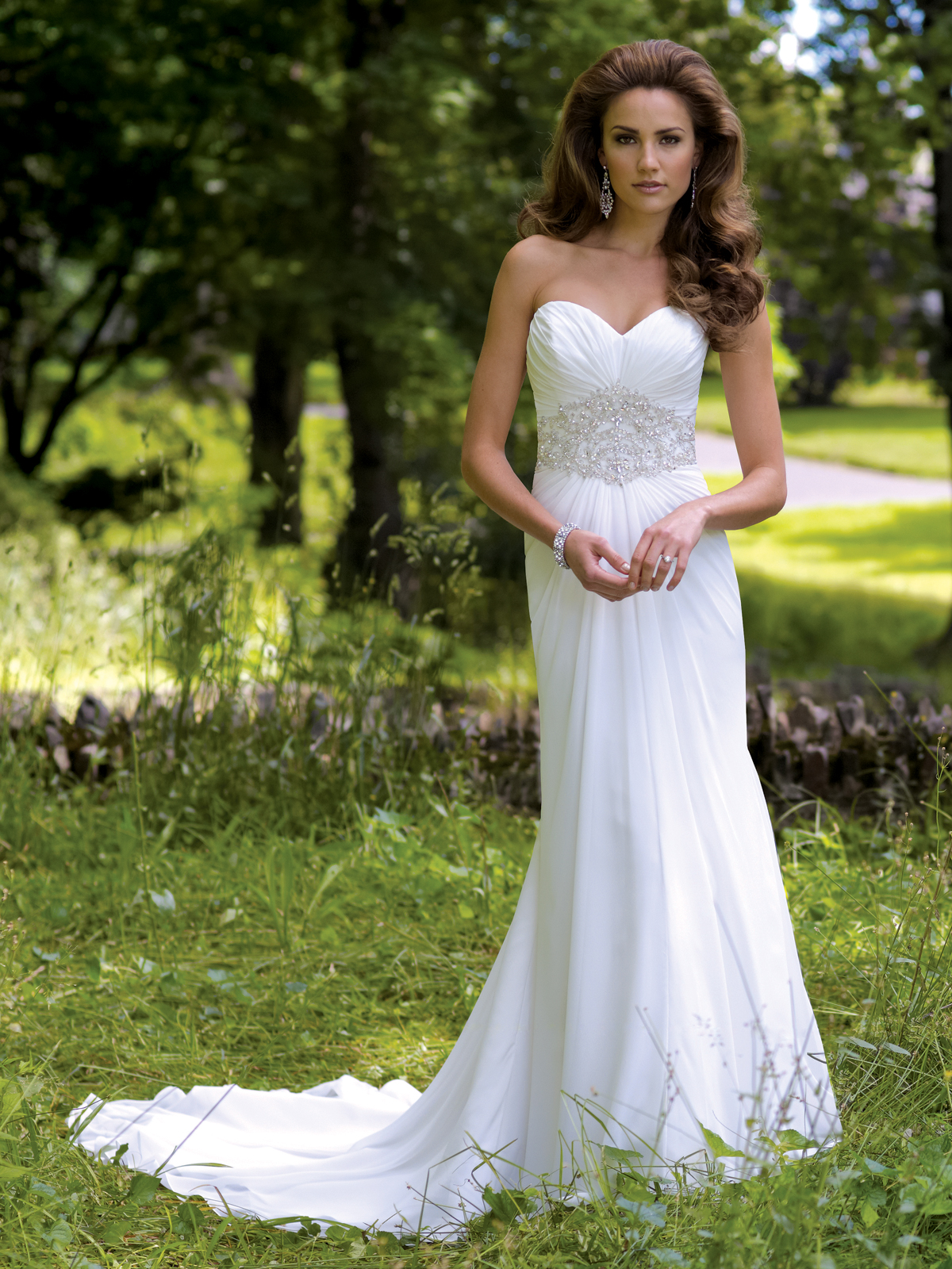 Casual Wedding Dresses Dressed Up Girl