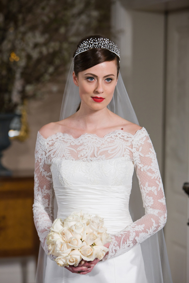 Long Sleeve Wedding Dresses   : Long sleeve wedding dresses dressed up girl