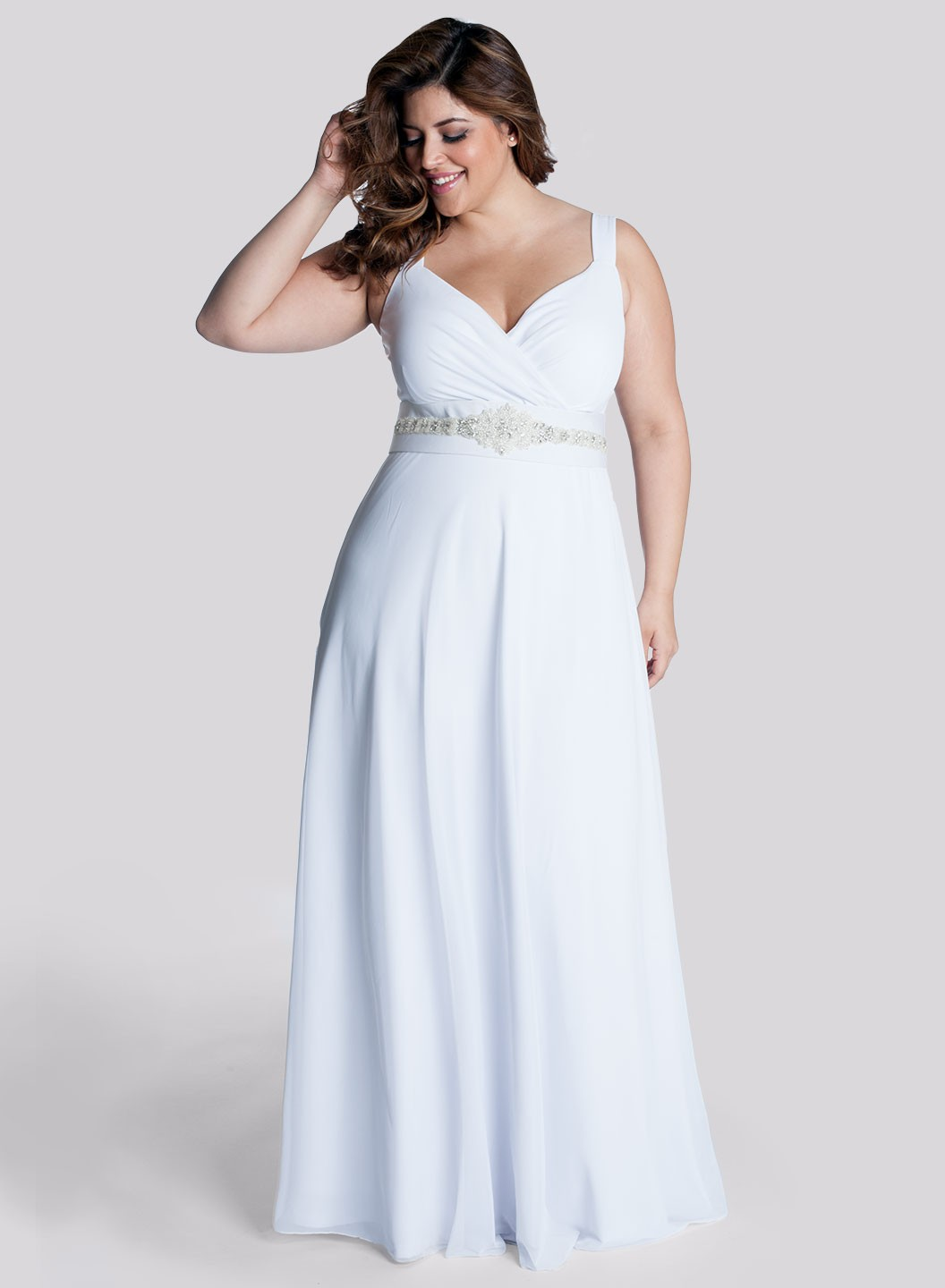 Plus size wedding dresses dressed up girl for Wedding dresses for girl