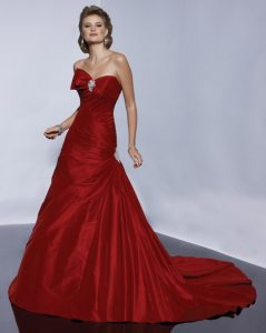 Wedding Dresses Red