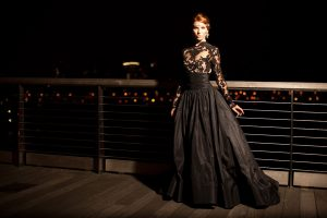 Wedding Dresses with Black