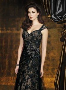 Wedding Dresses with Black Lace