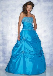 Wedding Dresses with Blue
