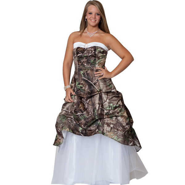 Camo Wedding Dresses | Dressed Up Girl
