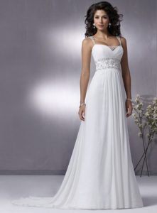 White Casual Wedding Dresses