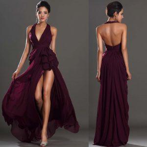 Backless Prom Open Back Dresses