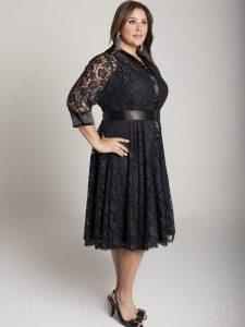 Black Dresses Plus Size