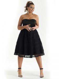 Black Lace Dress Plus Size