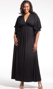 Black Maxi Dress Plus Size