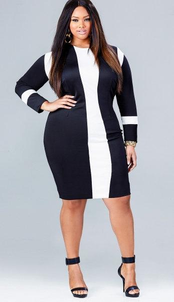 Plus Size Black Dresses | DressedUpGirl.com