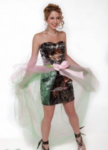 Camo Prom Dress Pictures