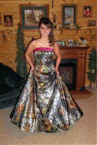Camo Prom Dresses Photos