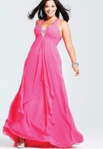 Cheap Plus Size Semi Formal Dresses