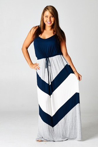 Chevron Dress Plus Size Timiznceptzmusic