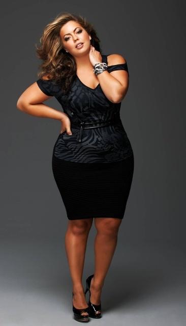 Plus Size Club Dresses | DressedUpGirl.com
