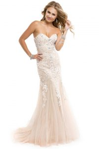Corset Mermaid Prom Dresses