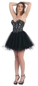 Corset Short Prom Dresses