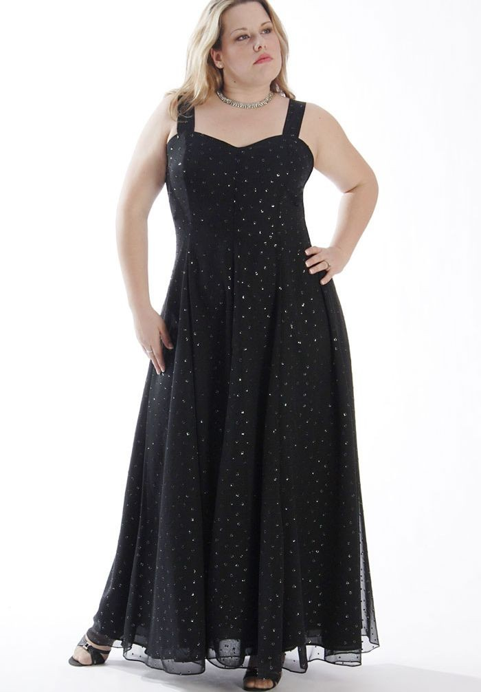 Plus Size Evening Dresses - Dressed Up Girl
