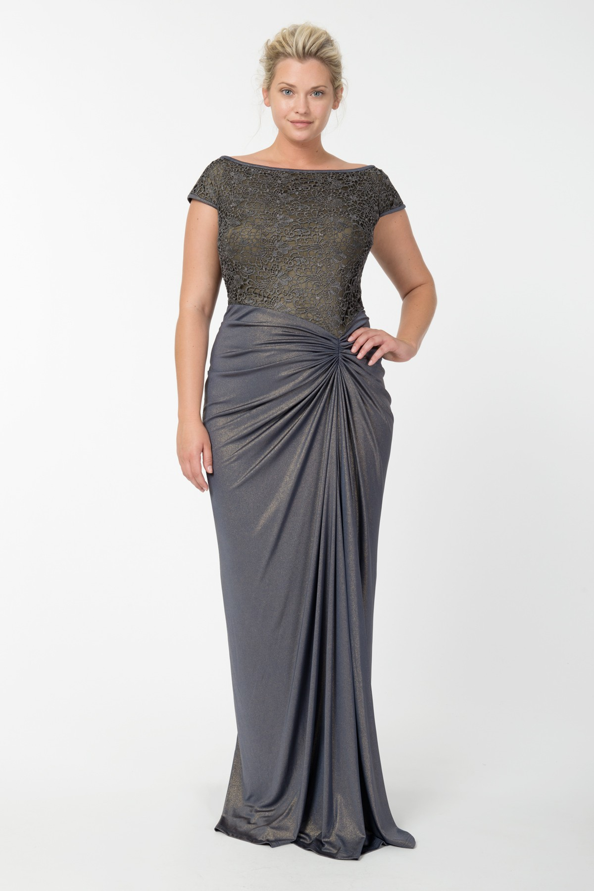 PLUS SIZE EVENING DRESSES - Kapres Molene