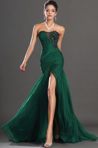 Green Mermaid Prom Dress