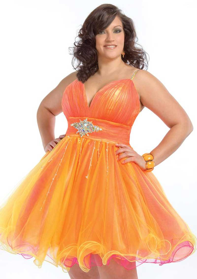 Plus Size Homecoming Dresses  Dressed Up Girl