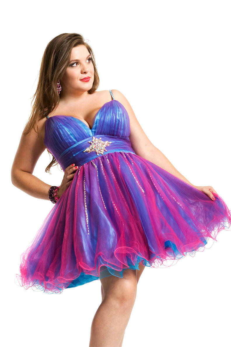 Plus Size Homecoming Dresses | DressedUpGirl.com