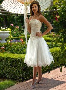 Lace Short Wedding Dress