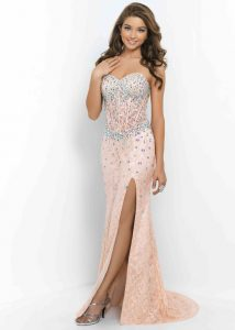 Long Corset Prom Dresses