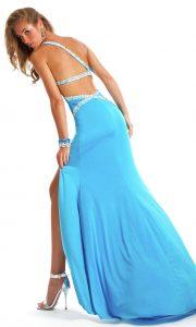 Long Open Back Prom Dresses