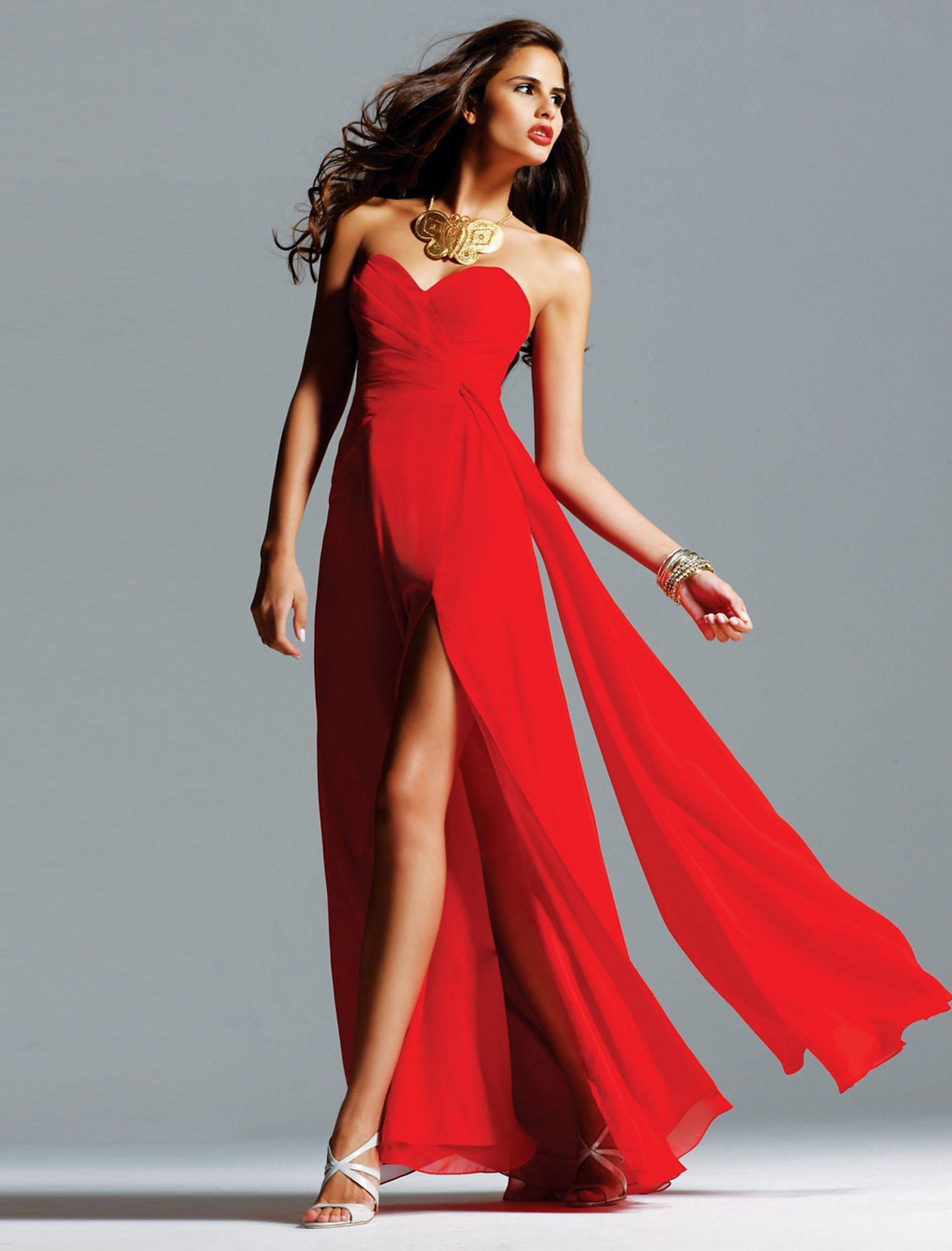 Long Prom Dresses Dressedupgirl Com