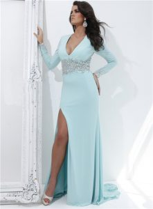 Long Sleeved Prom Dresses