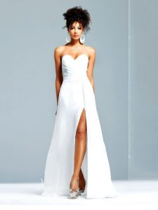Long White Prom Dress