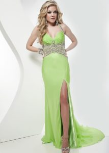 Neon Green Prom Dresses