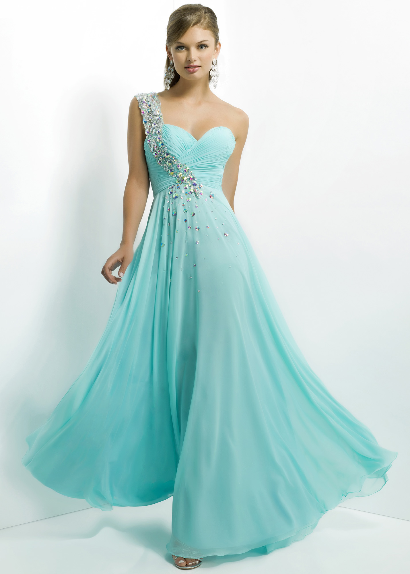 One Shoulder Prom Dresses - Dressed Up Girl
