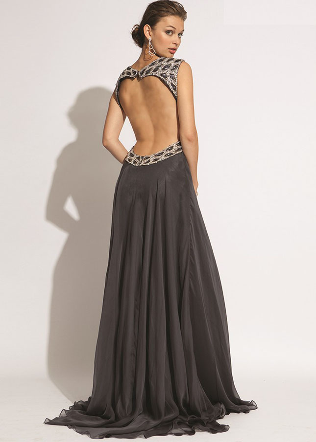 Open Back Prom Dresses Dressedupgirl Com