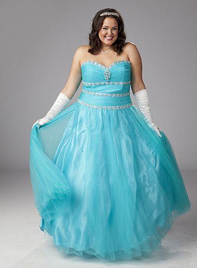 Ball Gown Prom Dresses | DressedUpGirl.com