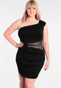 Plus Size Black Cocktail Dresses