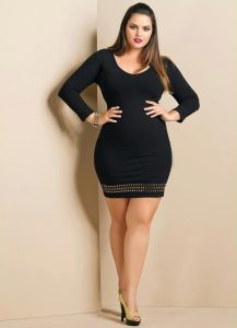 Plus Size Black Dress