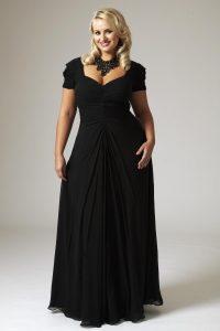 Plus Size Black Formal Dresses