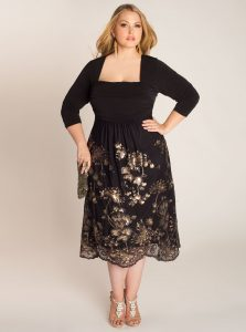 Plus Size Black Tie Dresses
