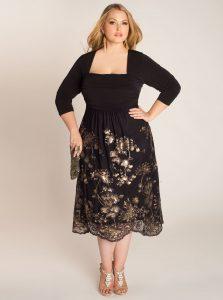 Plus Size Black Tie Dresses
