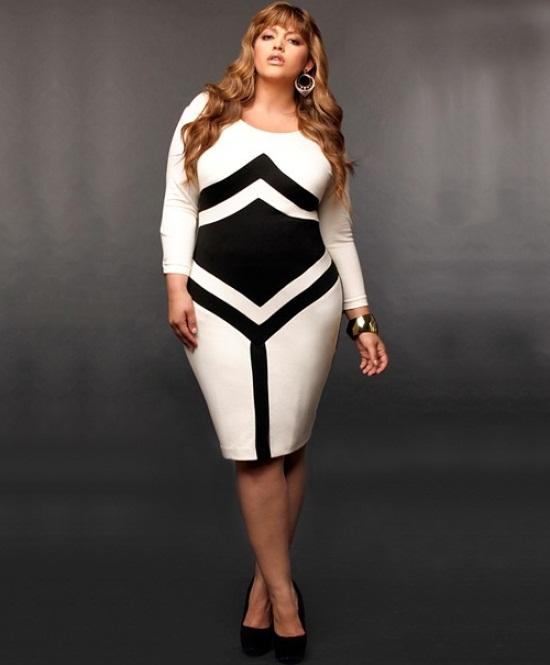 Plus Size White Dress | DressedUpGirl.com
