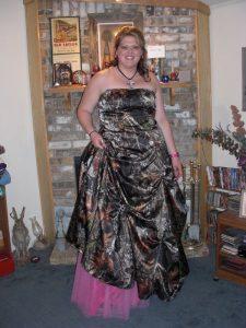 Plus Size Camo Prom Dresses