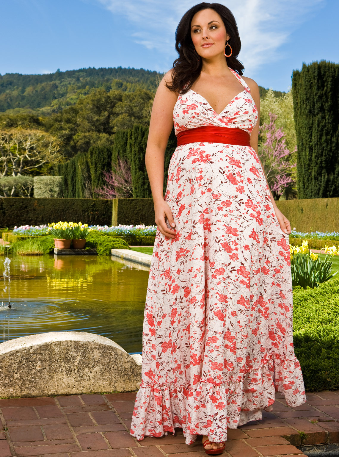 Plus Size Maternity Summer Dresses